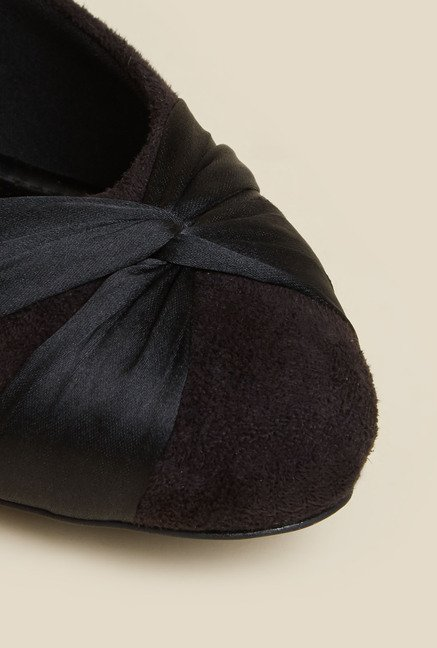 Metro Black Ballerina Shoes
