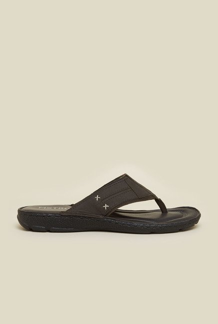 Metro Brown Leather Sandals