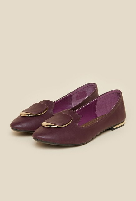 Metro Purple Ballerina Shoes