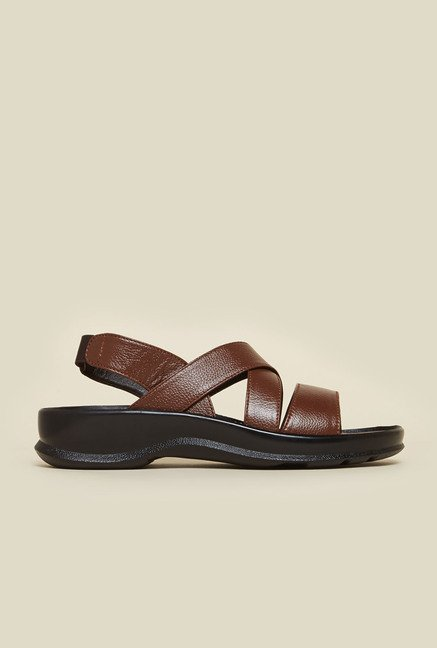 Metro Tan Open Toe Sandals