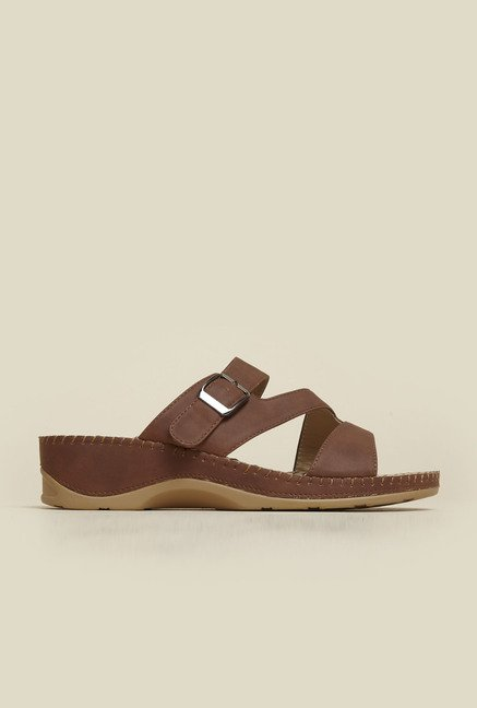 Metro Brown Acupressure Wedges
