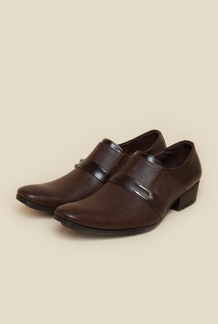 Metro Tan Square Toe Formal Moccasin