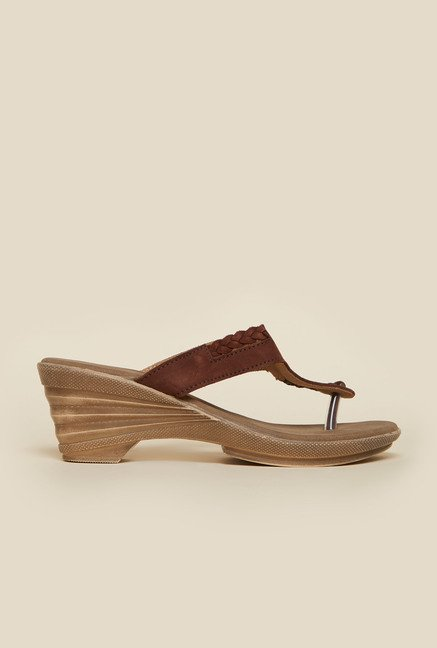 Metro Tan Nubuck Leather Sandals