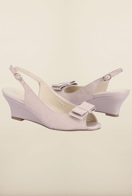 Tresmode Cewedge Beige Wedges
