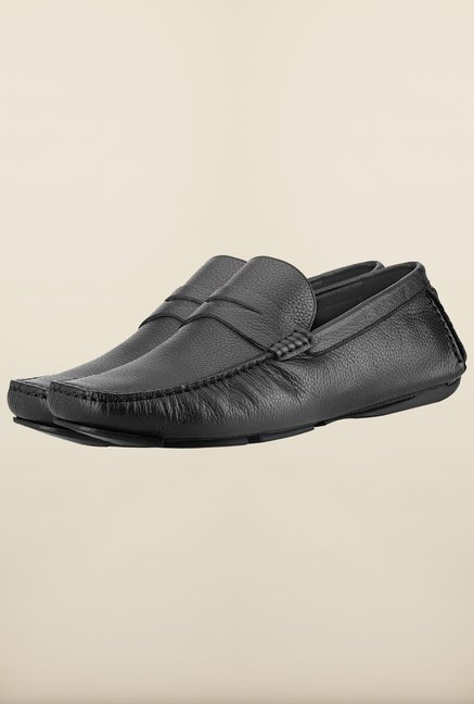 Tresmode Feiloaf Black Loafers