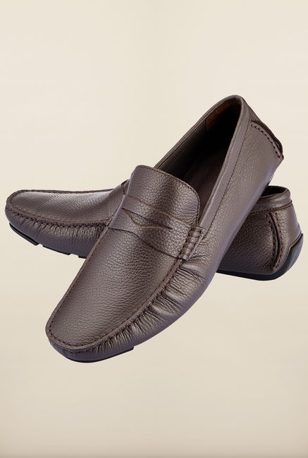 Tresmode Feiloaf Brown Loafers