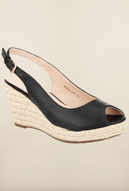 Tresmode Chwed Black Wedges