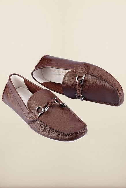 Tresmode Jenloaf Brown Loafers
