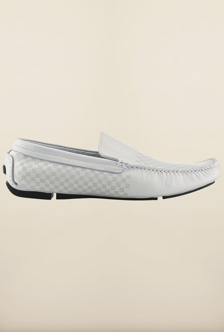 Tresmode Jinloaf White Loafers