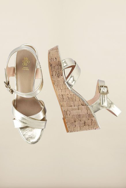 Tresmode Romedge Gold Wedges