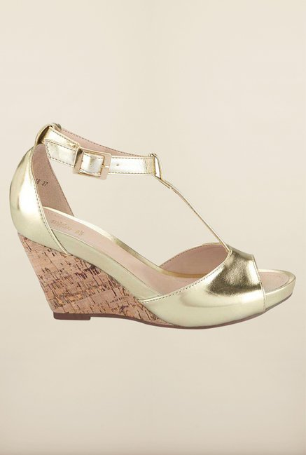 Tresmode Charstrap Gold Wedges