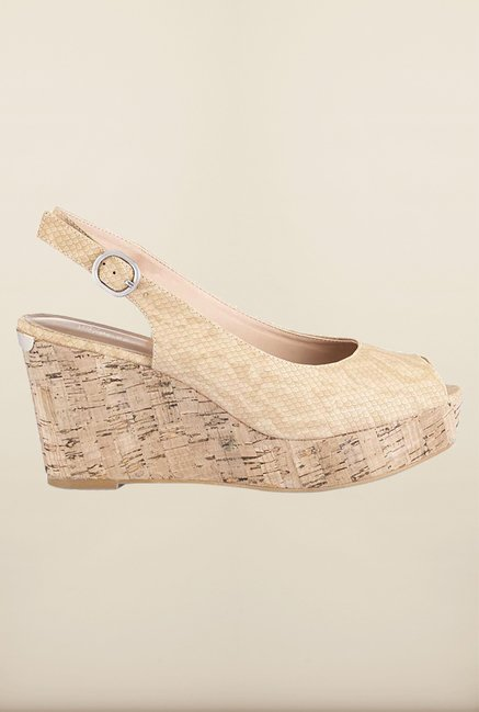Tresmode Repwedge Beige Wedges
