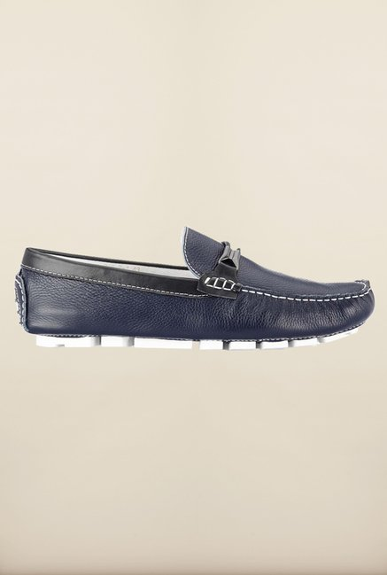 Tresmode Savring Navy Loafers