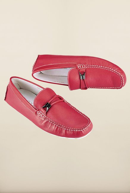 Tresmode Savcirc Red Loafers