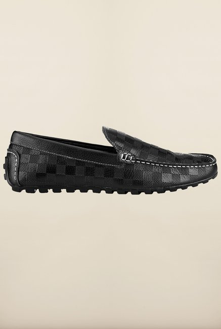 Tresmode Salv Black Loafers