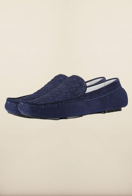 Tresmode Jweave Navy Loafers