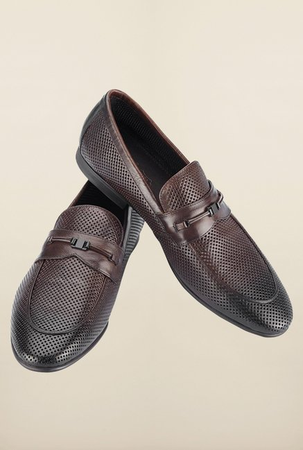 Tresmode Bformal Brown Slip-ons
