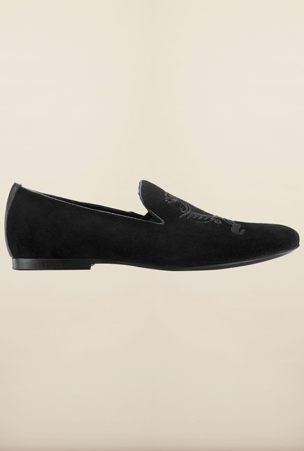 Tresmode Bebillion Black Loafers