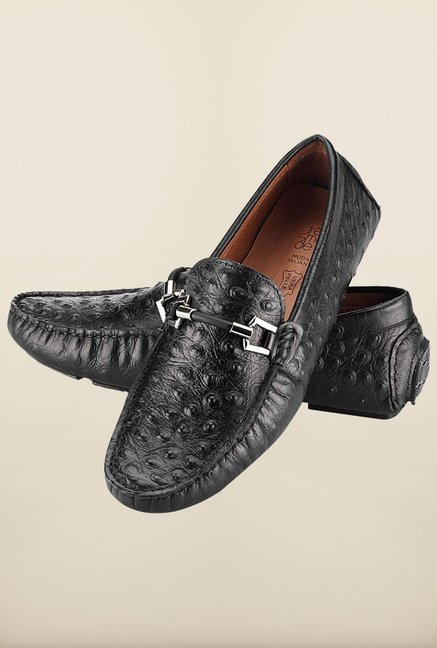Tresmode Eloaf Black Loafers
