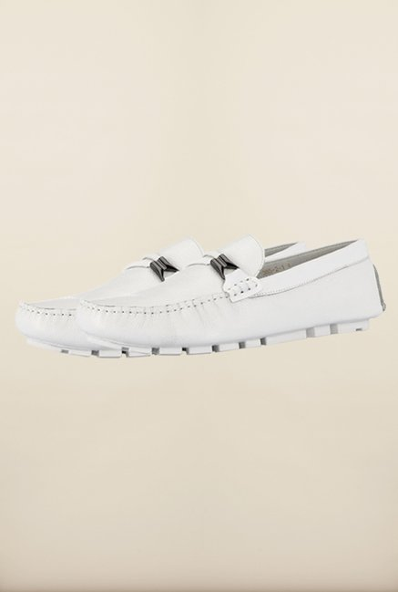 Tresmode Savcirc White Loafers