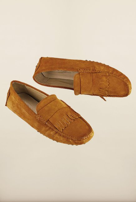 Tresmode Tan Sfrill Tan Loafers