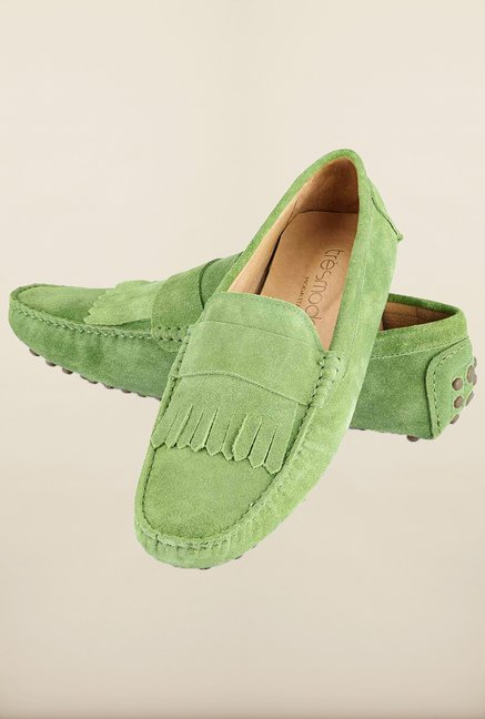 Tresmode Sfrill Green Loafers