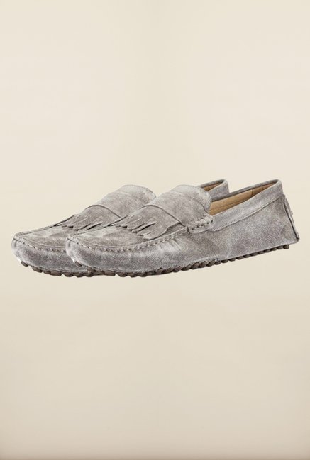 Tresmode Sfrill Grey Loafers