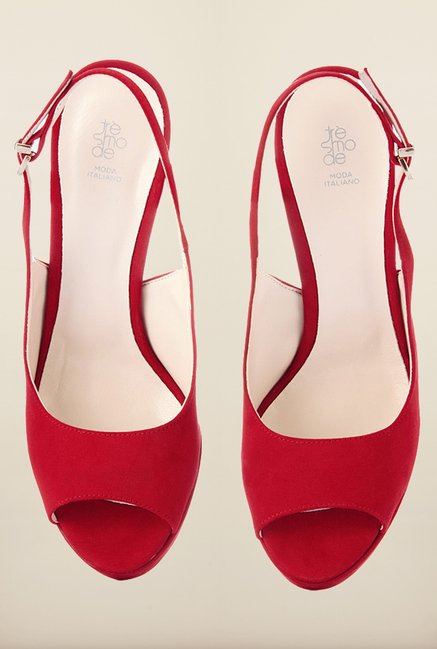Tresmode Vinica Red Stilettos