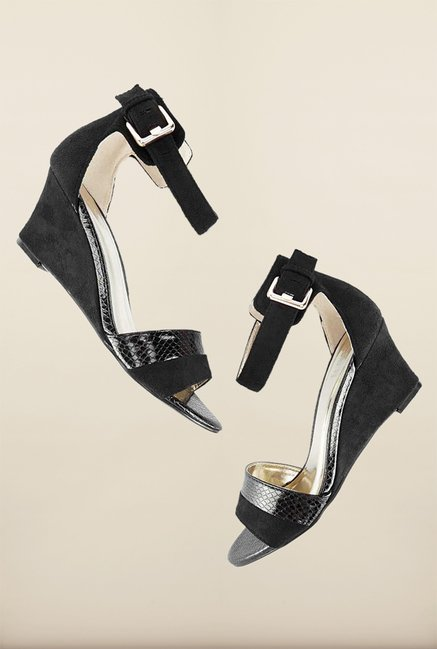 Tresmode Cewedge Black Wedges