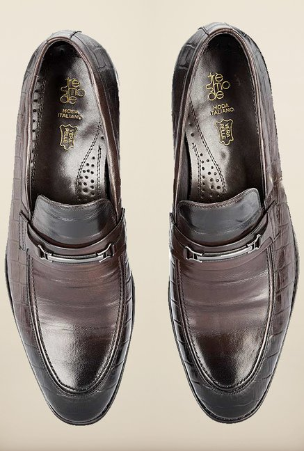 Tresmode Beslipon Brown Slip-ons