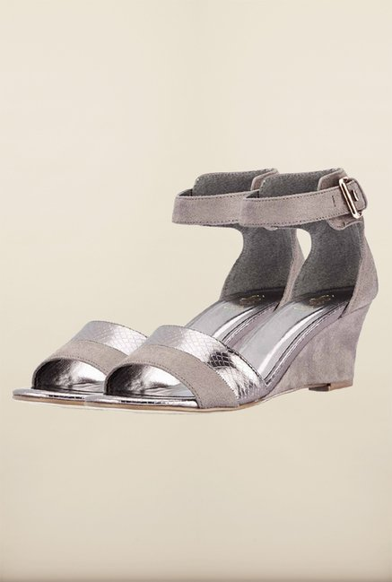 Tresmode Cewedge Pewter Wedges