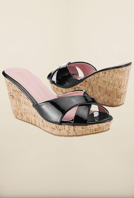 Tresmode Jochoo Black Wedges