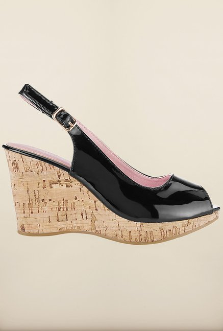 Tresmode Jotrend Black Wedges