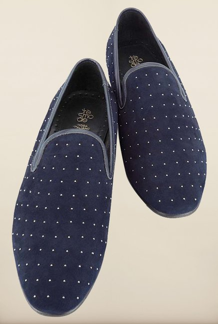 Tresmode Berive Navy Loafers