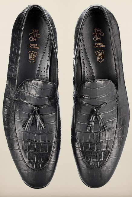 Tresmode Berep Black Loafers