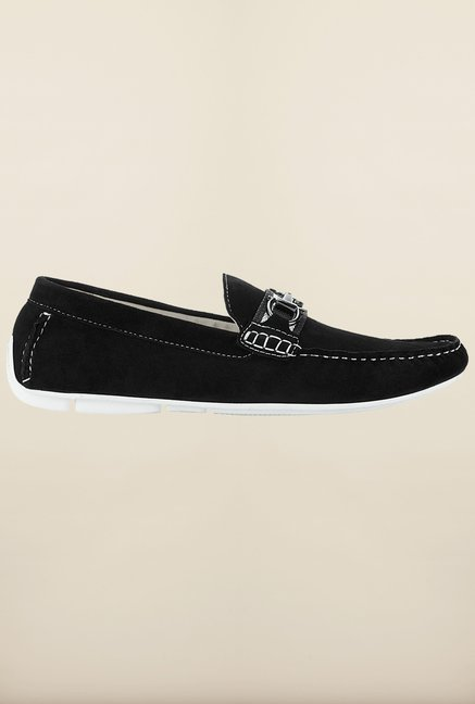 Tresmode Besporr Black Loafers
