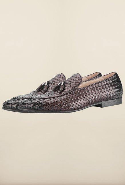 Tresmode Bwoven Wine Loafers