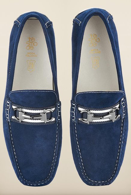 Tresmode Besporr Blue Loafers