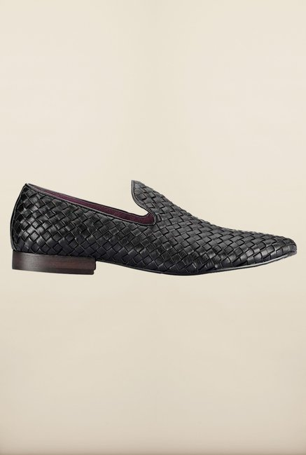 Tresmode Rowo Black Loafers