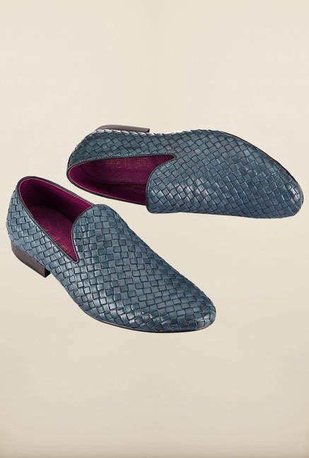 Tresmode Rowo Navy Loafers