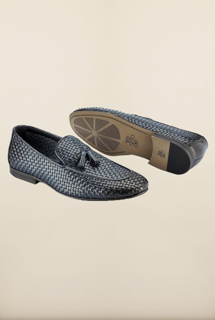 Tresmode Bemesh Navy Loafers