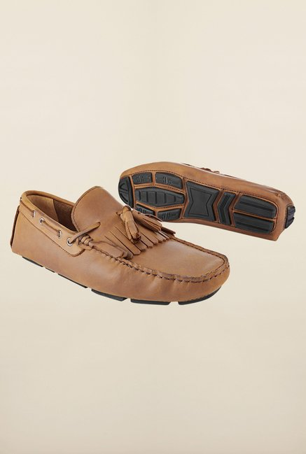 Tresmode Jtee Tan Loafers