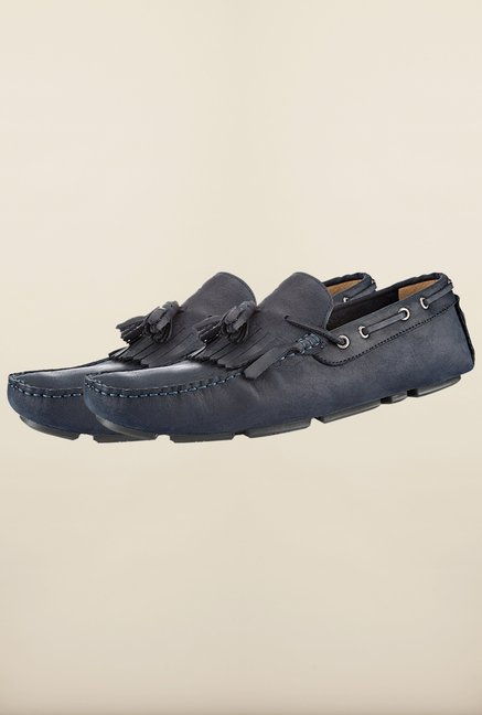 Tresmode Jtee Navy Loafers