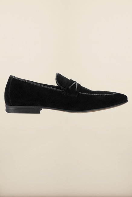 Tresmode Besuede Black Loafers