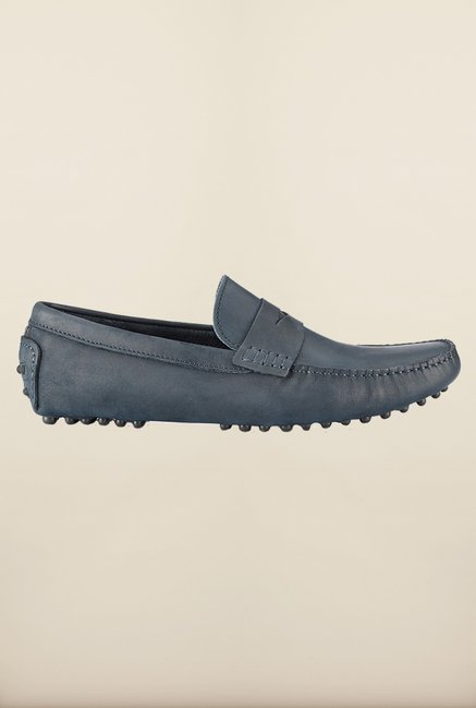 Tresmode Jinpenny Navy Loafers