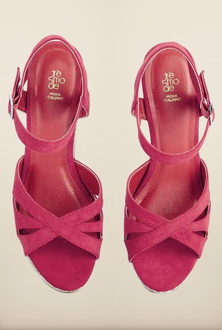 Tresmode Restredge Pink Wedges