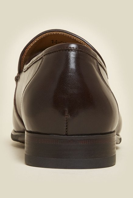 Da Vinchi by Metro Brown Leather Loafers