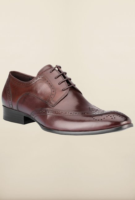 Tresmode Miamen Brown Brogue Shoes