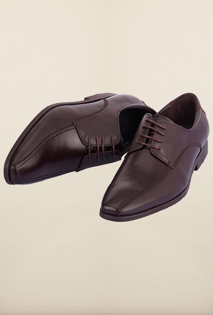 Tresmode Jowork Brown Derby Shoes