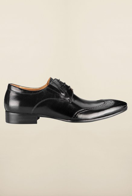 Tresmode Yue Black Brogue Shoes